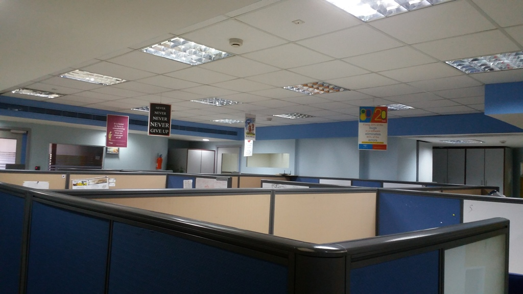 6342 Sq.Ft. Fully Furnished Office in IT Park @ 4.12 Lac for Rent/Lease in Baner Road,